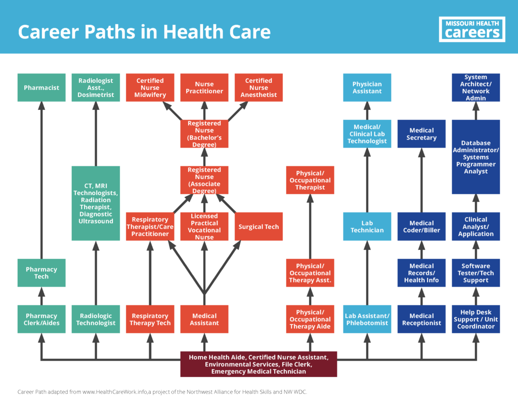 Career Paths In Health Care Missouri Health Careers